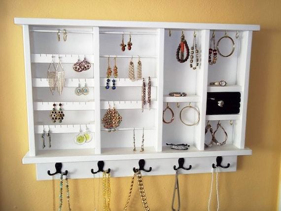 Wall Jewelry Organizer Jewelry Storage and Organization