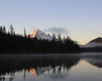 Lost Lake Mt. Hood Oregon Mountain Photo Print