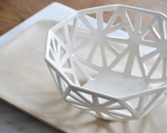 2V Geodesic Fruit Bowl