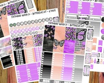 Butterfly - Printable Planner Kit - EC Vertical/Happy Planner