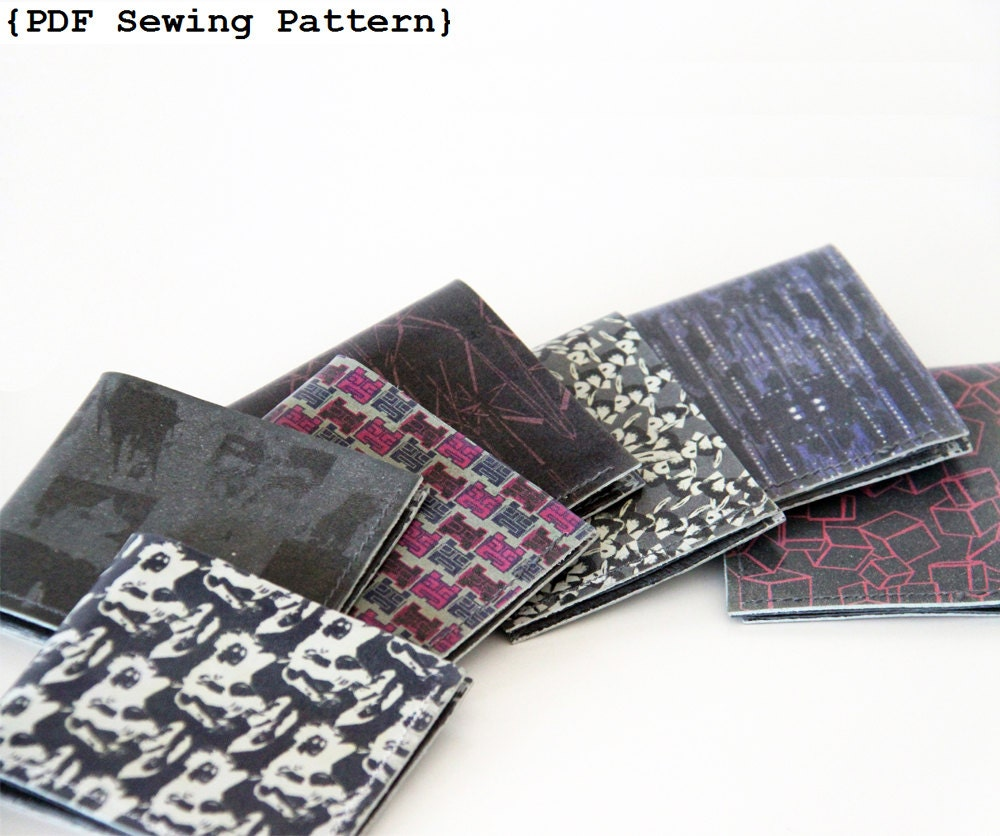 Men wallet sewing pattern leather wallet pattern diy zoom jeuxipadfo Choice Image