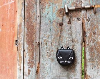 Cat shoulder bag - two sizes
