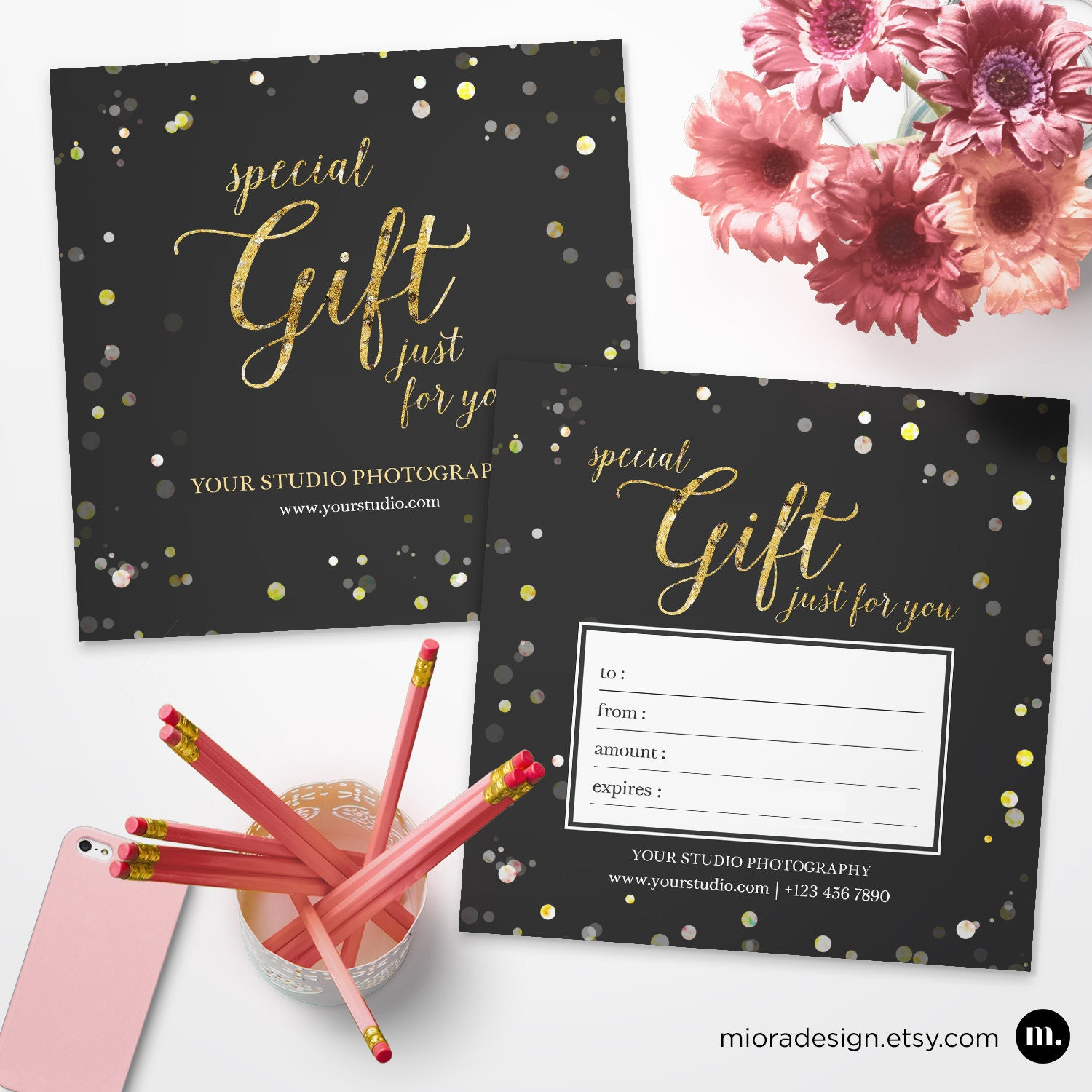 Photography Gift Certificate Template for Photographer