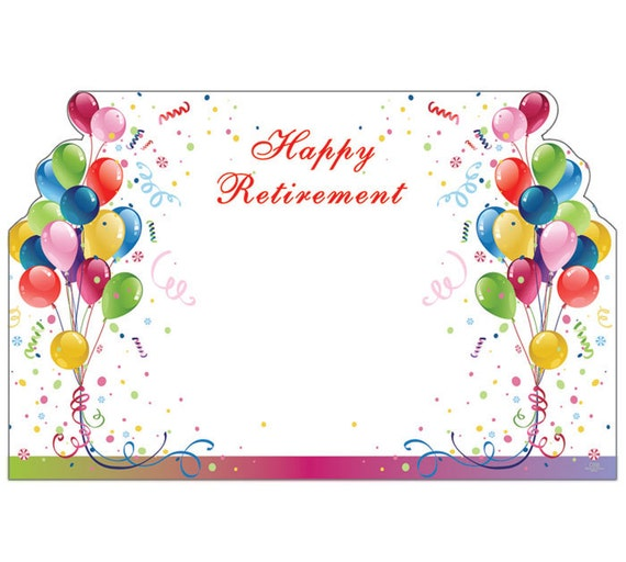 free retirement cards to print