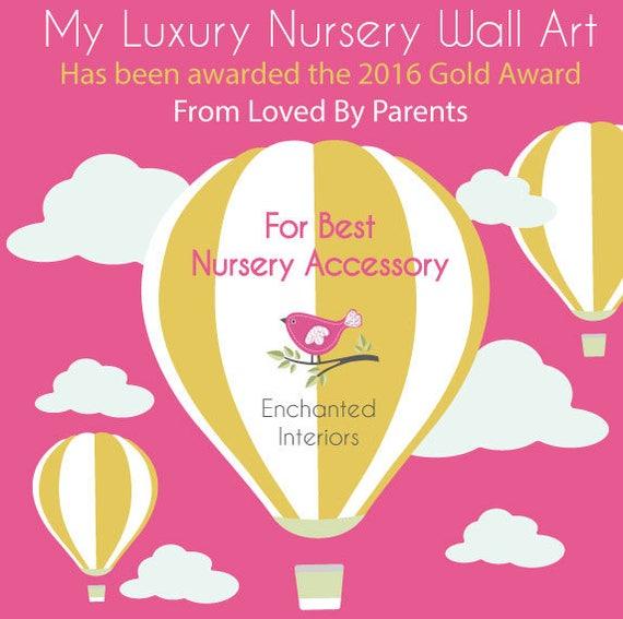 Nursery Wall Decal Hot Air Balloon Wall Stickers. Kites