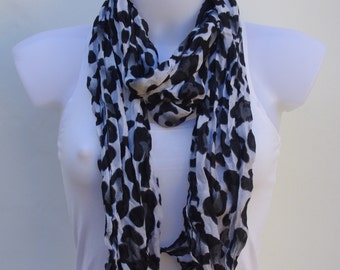 Animal Print Scarf Scarves For Women Unique Scarves Fashion Scarves Winter Spring Scarves Women's Scarves Shawl Scarf Fall Scarf Gift Ideas