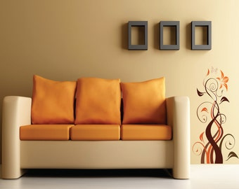 Printed wall sticker - Fleurale (002)