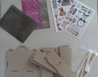 making drawer print scrapbooking Kit