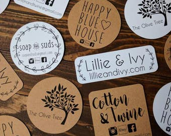 STICKERS! Custom Logo, personalized stickers, custom stickers, logo stickers, small business