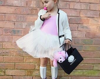 Tulle leotard ballet flower girl birthday dress