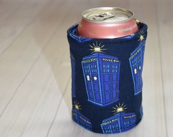 Dr Who Inspired Can/Bottle Cozy