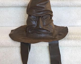 Sorting Hat: Host Your Own House Sorting Ceremony with this Wearable Sorting Hat Prop, A Prop for Harry Potter Fans, Not Officially Licensed