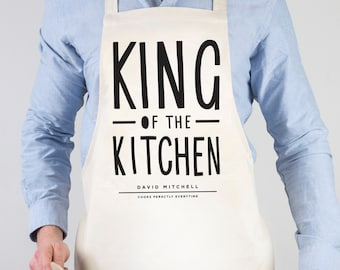 Boss of The Kitchen Apron personalised apron baking gift