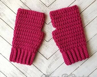 Crochet Fingerless Gloves, Fingerless Gloves, Gloves, Winter Gloves