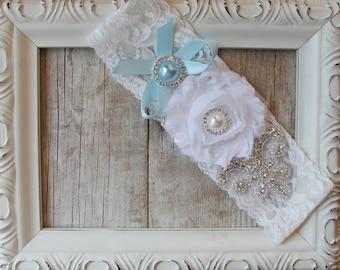 Customizable Wedding Garter, Bridal Garter, Something Blue, Stretch Lace Garter, Prom, Wedding, Toss Garter, Keepsake Garter, Prom Garter