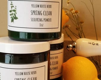 Spring Clean Herbal Scouring Powder