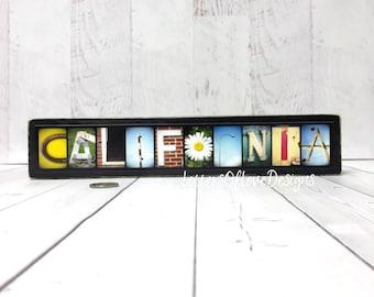 California Wall Art, California Home Decor, California Wood Sign, California Map, Traveler Travel Gifts for Travelers, California Gift Photo