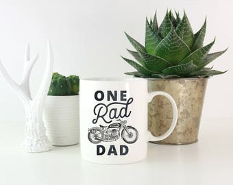 One Rad Dad Mug, Fathers Day Mug, Birthday Gift for Dad, Rad Dad Gift, New Dad Mug, New Dad Gift, Dad Mug, Daddy Mug, Fathers Day Present