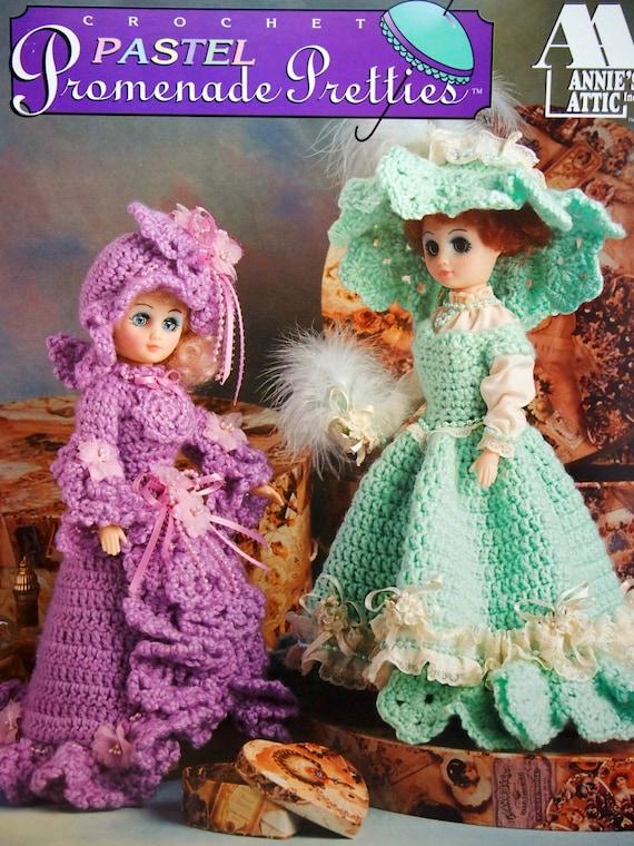 Pastel Promenade Pretties By Annies Attic Vintage Crochet