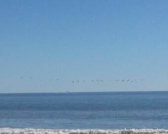 The Atlantic Ocean Meets the Beach.