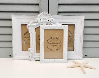 5x7 Picture Frame; 5x7 Frame; 5x7 Wood Picture Frame; Photo Frame; Distressed Frame; Rustic Picture Frame; Painted Frame; Portrait Frame