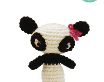 Crochet pattern - Panda Amigurumi pattern, Panda plush, Easy crochet pattern