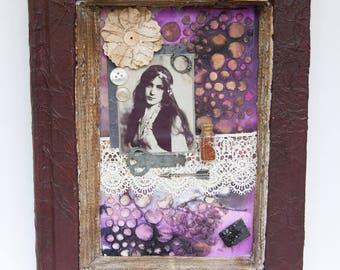 Assemblage Art - Bohemian Art - Mixed Media