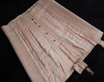 Vintage pink brocade corset girdle Twifit suspenders Leethems Ltd Portsmouth England lingerie 1950s
