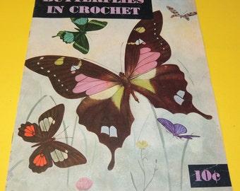 1951 BUTTERFLIES in Crochet Book 272