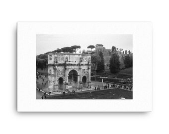 Arch of Constantine Rome Canvas Print , 1:100 Limited Edition added. wall art . home decor . photography . photo . decoration