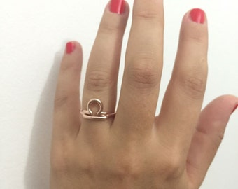 Zodiac Ring- Libra Ring, Zodiac Sign Ring- Astrology Jewelry- Horoscope Ring- Astrological sign ring- Astrology Ring