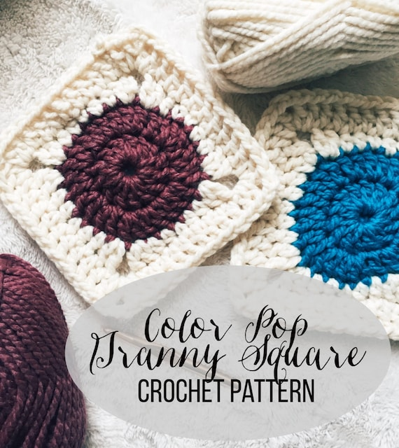 PATTERN: Color Pop Granny Square | Easy Crochet Blanket Pattern from ...