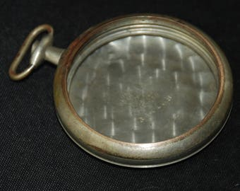 Beautiful Vintage Antique Steampunk Pocket Watch Body Case CU 2
