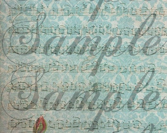 TiffanyJane Faded Background Design for .20 listing fee-RAK-For Art--Embellishment--Paper Tags--Scrapbooking-Altered Art--Instant Download