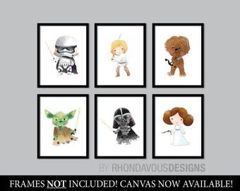 Star Wars Nursery Art. Baby Boy Nursery Print. Nursery Art. Nursery Decor. Star Wars Nursery Print. Star Wars Baby. Star Wars Poster. NS867