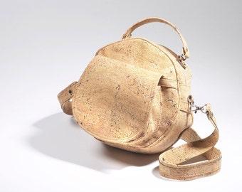Cork Round Bag