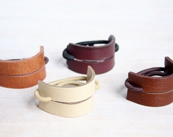 Leather Hair Band | Ponytail Wrap | Ponytail Holder | Hair Tie