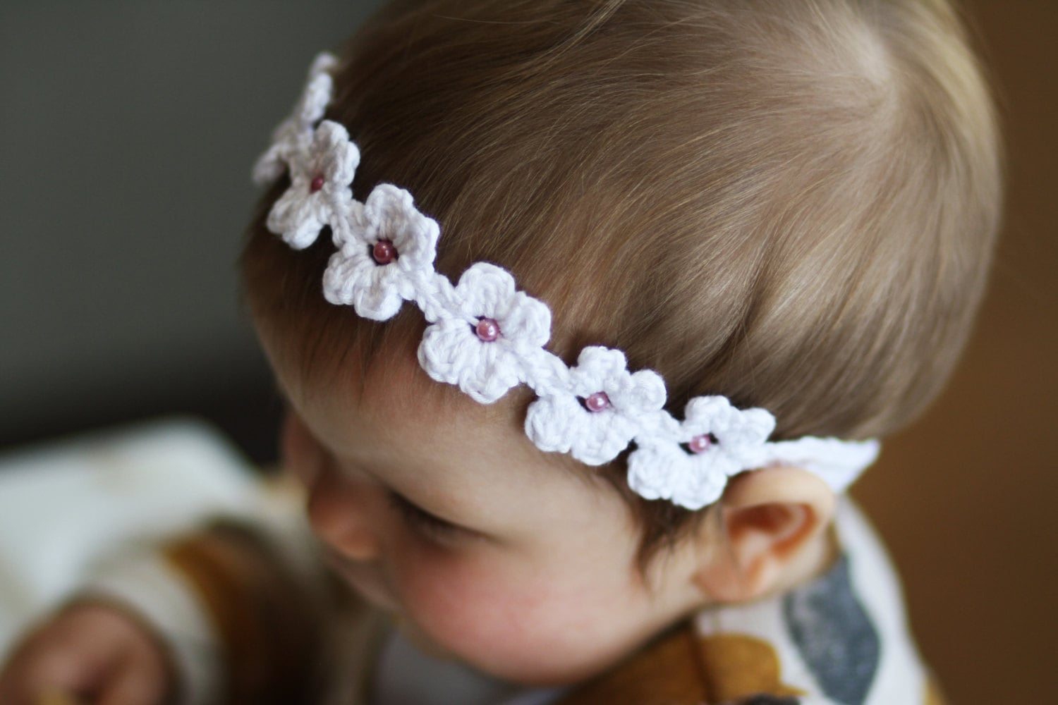 Daisy chain headband crochet pattern from daisychainpatterns on etsy daisy chain headband crochet pattern mightylinksfo