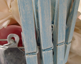 Its a BOY Baby shower Clothespins Set of 50