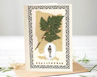 Gentlewoman / Gentleman [Greetings Card]