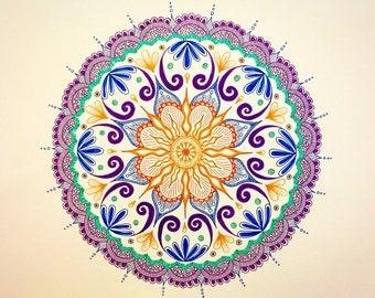 Mandala 11x14 Print
