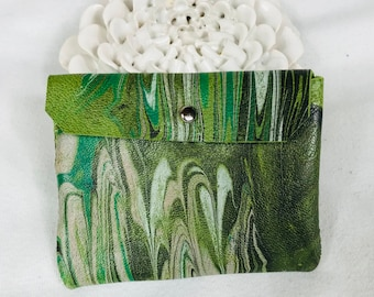 marble dyed leather pouch 8