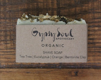 Organic Shave Soap