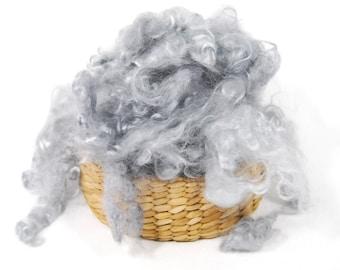 Mohair Curls Grey - 1 ounce