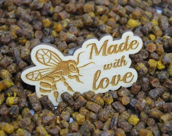 Organic 100% Bee Bread, Naturally Fermented Pollen, 1 Pound / 450gr Bienenbrot / Gift wrapped for you!