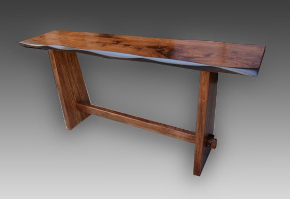Japanese KyotoStyle Console Table Walnut