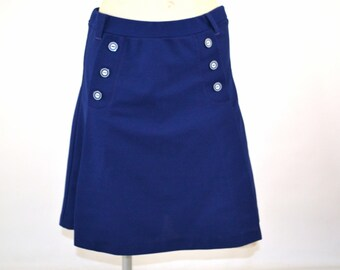 1960s Navy Blue Tennis Skort by Jantzen, Sportswear, Activewear