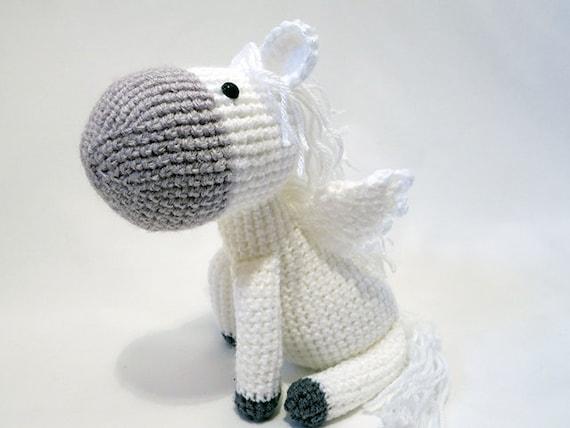 Crochet Pattern Pdf Amigurumi Pegasus Amigurumi Pattern Cute