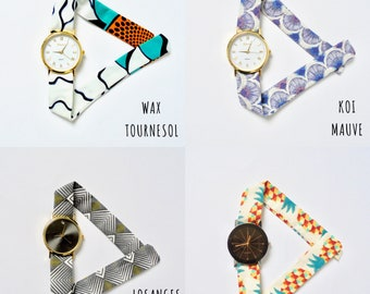 Watch dial and bracelet to choose