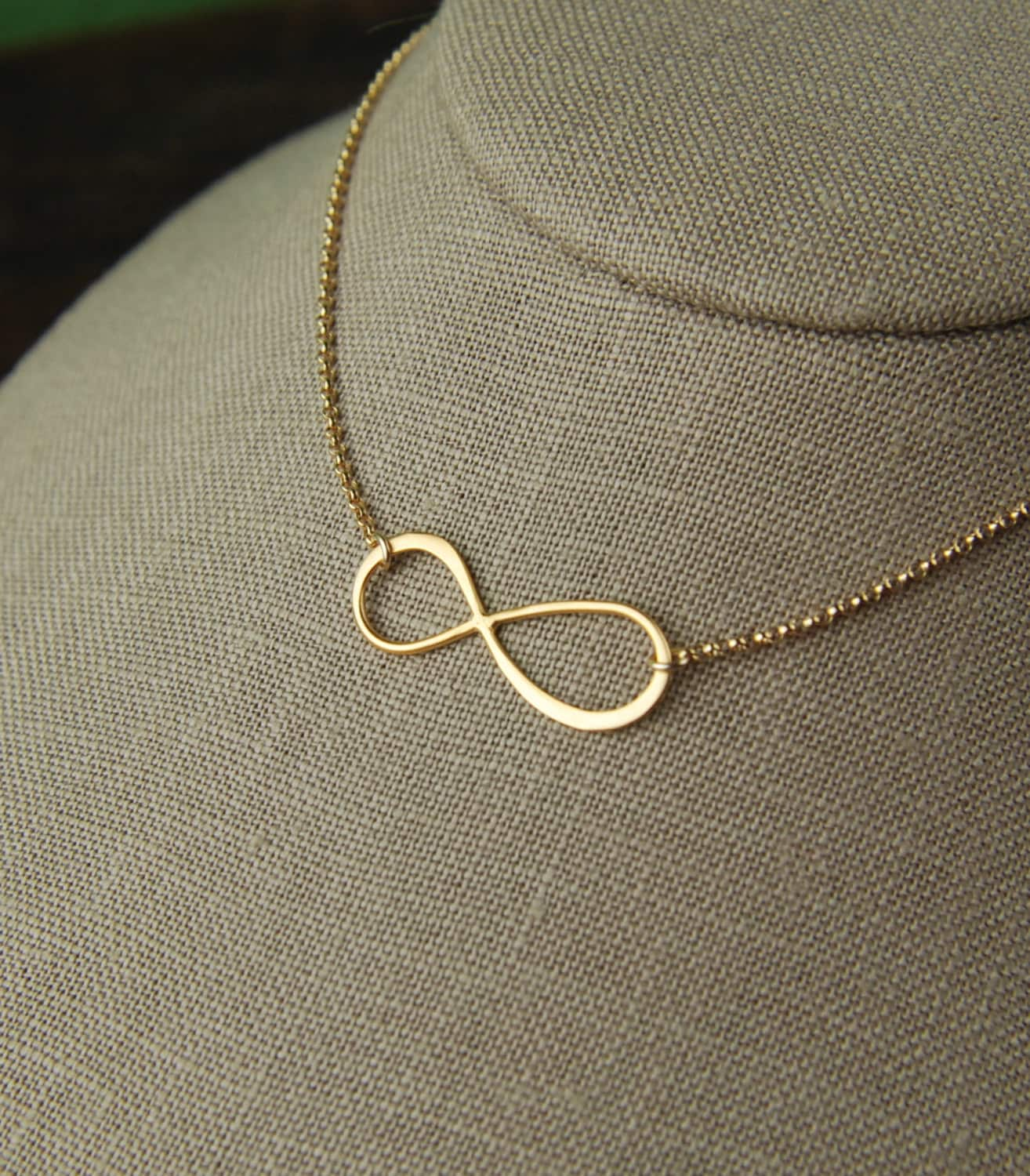 jewelry necklace with infinity personalized sign lariat cross